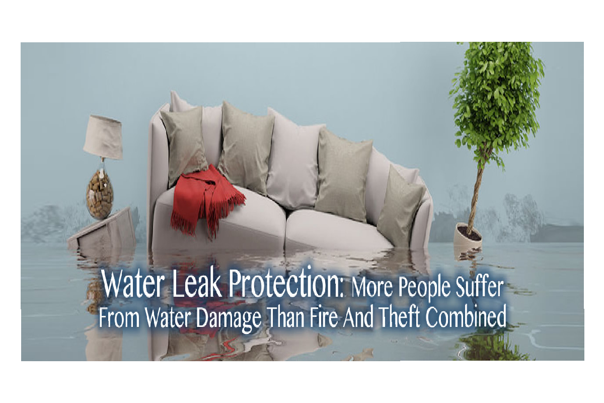 Water Leak Protection in St. Cloud: More People Suffer From Water Damage Than Fire And Theft Combined
