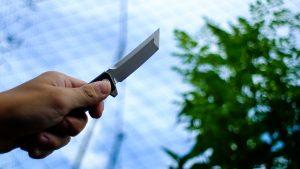 Japanese folding pocket knife