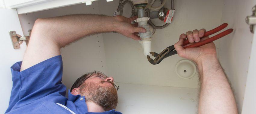Kitchen plumbing repairs